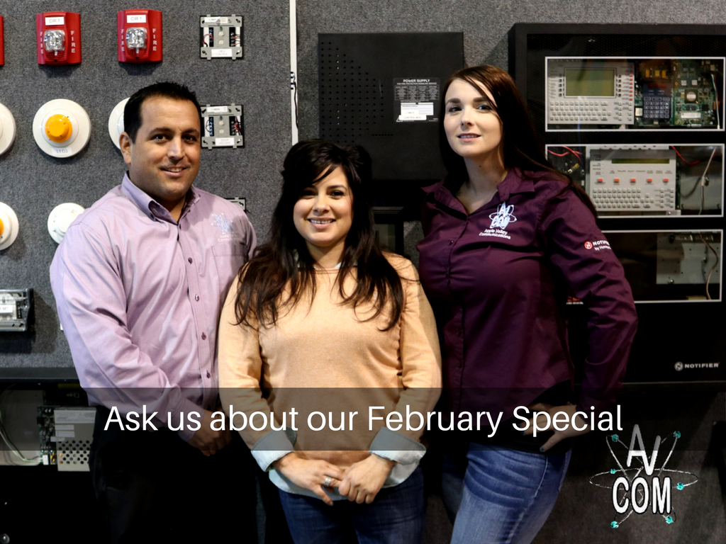 Call us today to get your February Special 760.247.2668 #homesecurity #residentialsecurity #AVCOM #applevalleycommunication<br>http://pic.twitter.com/lW3uTZZRHh