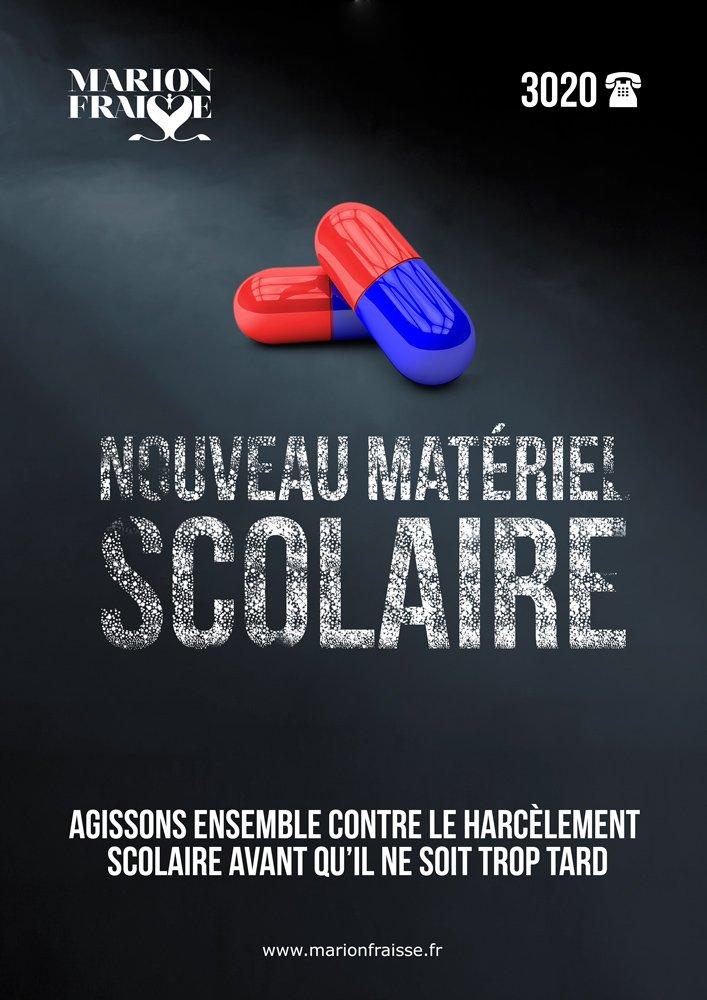 #Nouveau #matériel #Scolaire, affiche #made #by @css_officiel  #Webdesign #poster #school #choc #harcelement #scolaire #medics #reality 3<br>http://pic.twitter.com/G4AxpNl7to