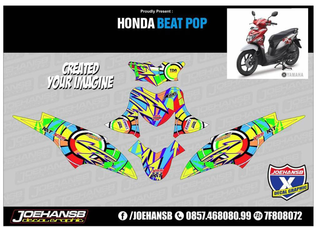 Jualdecal On Topsyone - Mio decalsyamaha mio sporty green force lime color striping stickers