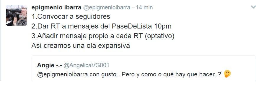 Apoya¡ es por México¡ no importa si tienes solo 1 seguidor, invita¡ difunde, participa en esta hermandad¡ #PaseDeLista1al43 @epigmenioibarra<br>http://pic.twitter.com/BGDCUVYRhn