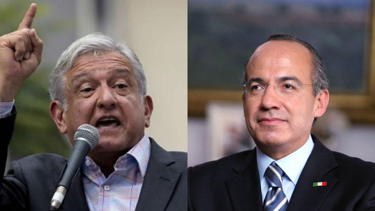 Felipe Calderón arremete contra AMLO y lo acusó de inventar Himno del...