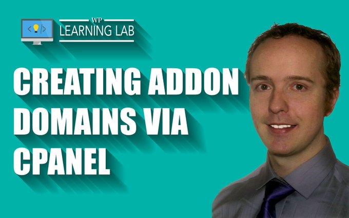 Create Add On Domains via cPanel