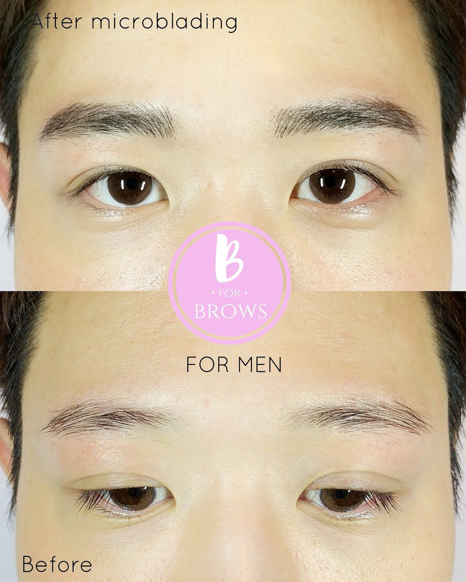 #MANBROWS Naturally Strong. Microblading done by me http://Www.bforbrows.com #microbladingvancouver #microbladingeyebrows #maneyebrows pic.twitter.com/yNXvrnAKRO