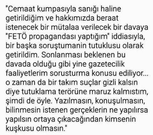 #AhmetŞık'ın #odatv savunmasından: sanıktan mağduriyete, mağduriyetten...