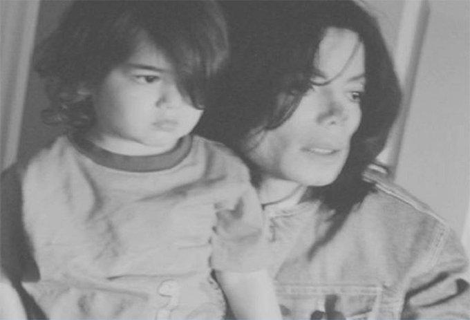 Happy 15th birthday Prince Michael Jackson II