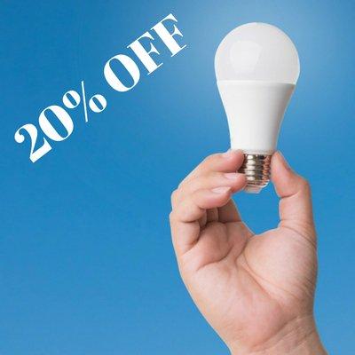 Pendant @BATIBOUW @Test_Achats vous offre 20% de réduction sur les lampes #LED: votre code coupon: BATIBOUW  http:// bit.ly/2lSQCOJ  &nbsp;  <br>http://pic.twitter.com/DPFkAsaXoO