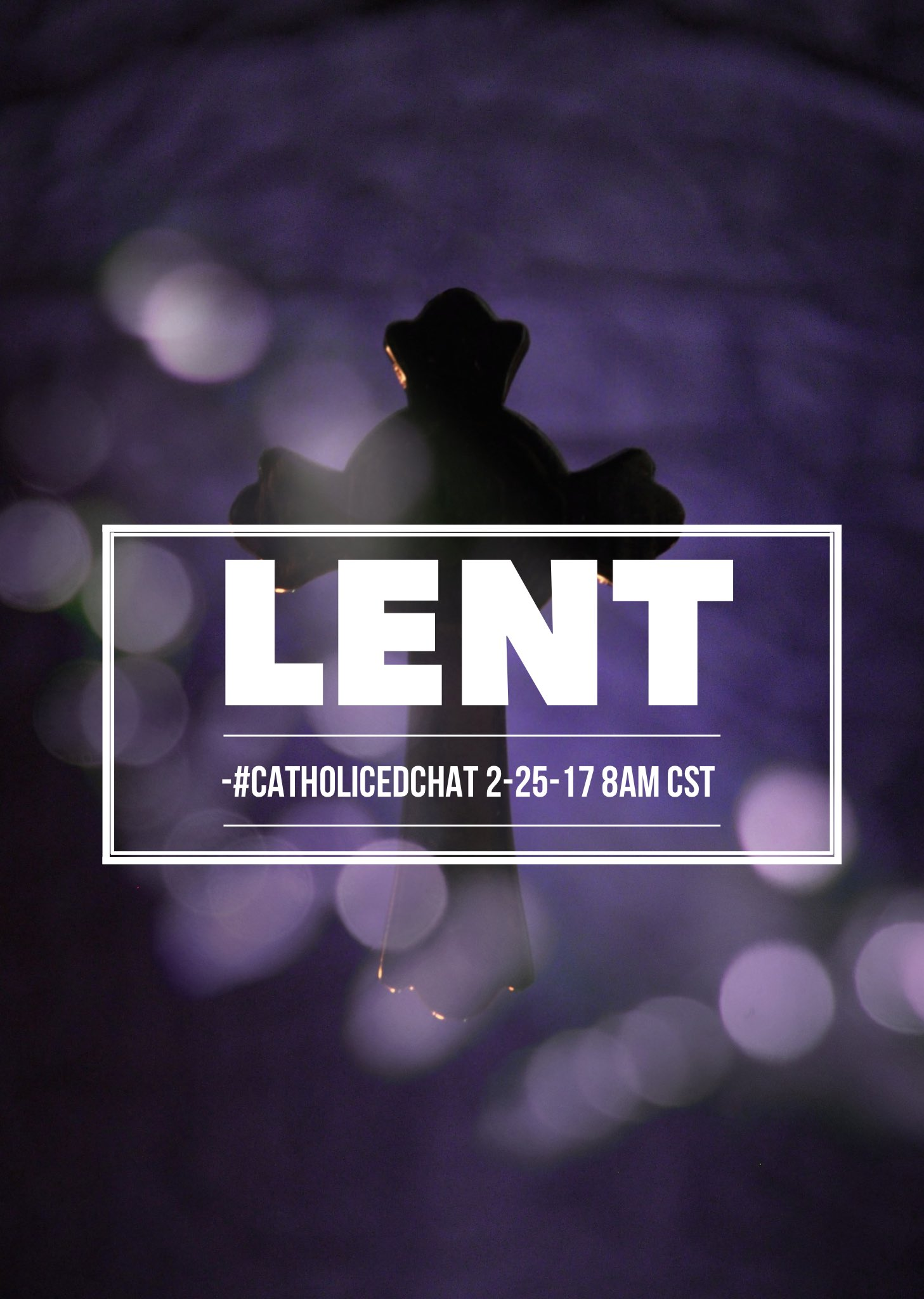 We happily welcome @beththomas for today's chat topic with  #CatholicEdChat #LENT https://t.co/mLNhhenJll