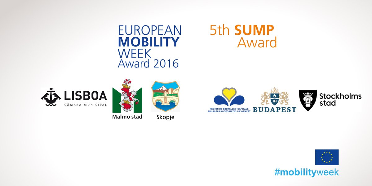 Revealed! Here are the finalists for the EU sustainable urban #mobility awards: https://t.co/igrPszpDzD #mobilityweek #SUMP #EUTransport https://t.co/z2Y0q0eVIs