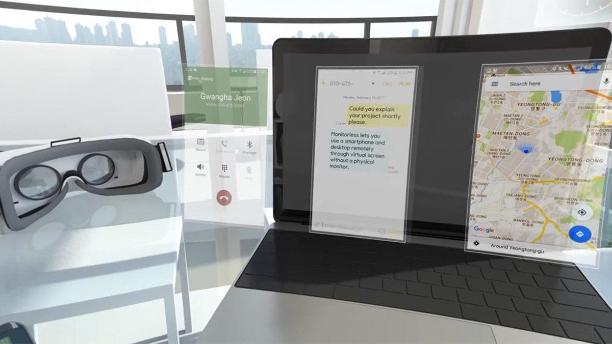 Réalité virtuelle : #Samsung nous prépare des surprises pour le Mobile World Congress  http:// ebx.sh/2kUsGcm  &nbsp;  <br>http://pic.twitter.com/iafAXHrfky