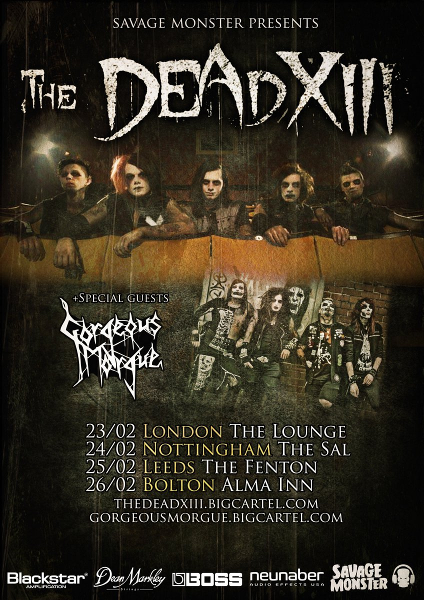 Only a couple of days now!  Who&#39;s coming  #TheGhostsAreWaiting #Headline #GorgeousMorgue<br>http://pic.twitter.com/EcwZr7wXmL