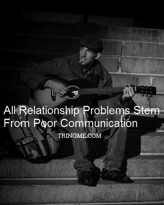 poor communication relationship