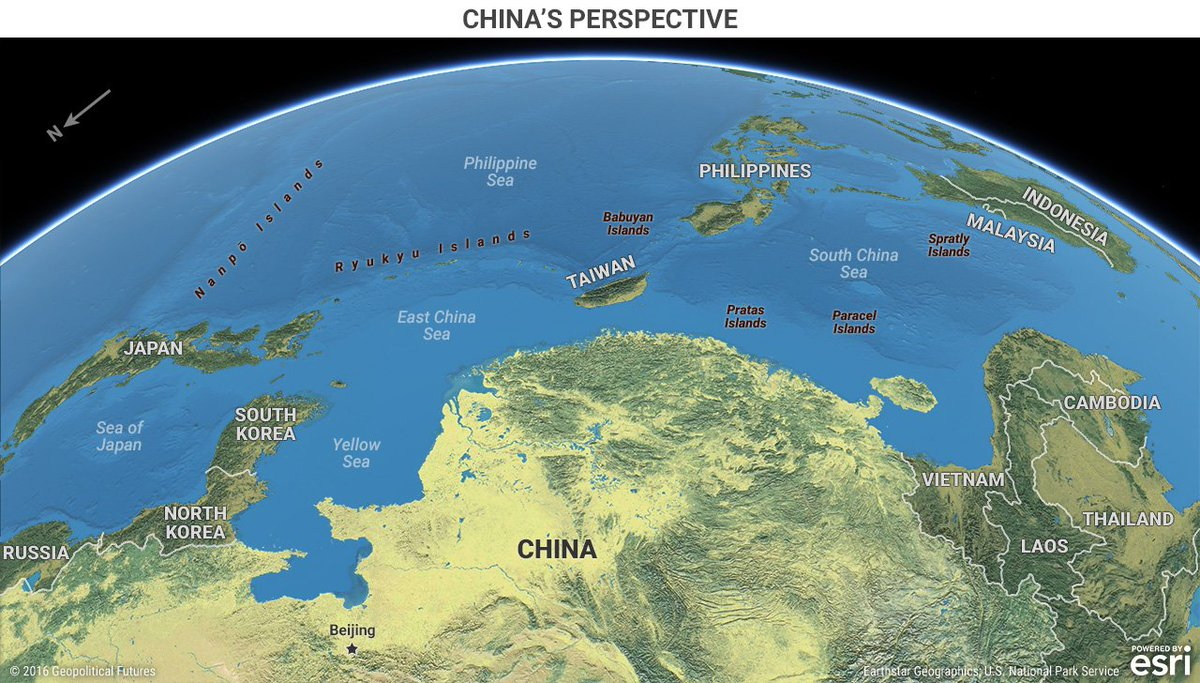 Simon kuestenmacher on twitter map helps to understand simon kuestenmacher on twitter map helps to understand geopolitics from perspective of china clever shift in perspective gumiabroncs Choice Image