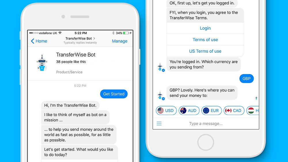 You Can Now Send Money And Setup Exchange Rate Alerts In Facebook Messenger