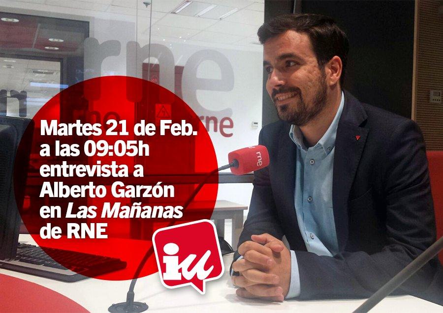 📻 A las 9:05, entrevista a @agarzon en @LasMananas_rne. Síguelo en dir...
