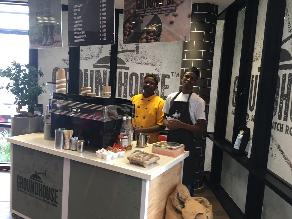 Great to see @GHouseCoffee in South Africa