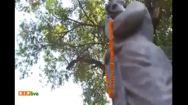 BJP National President Shri @AmitShah pays tributes to Chandra Shekhar...
