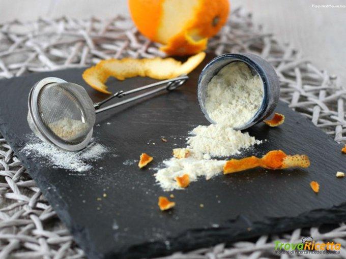 Zucchero a velo aromatizzato con arancia – come fare