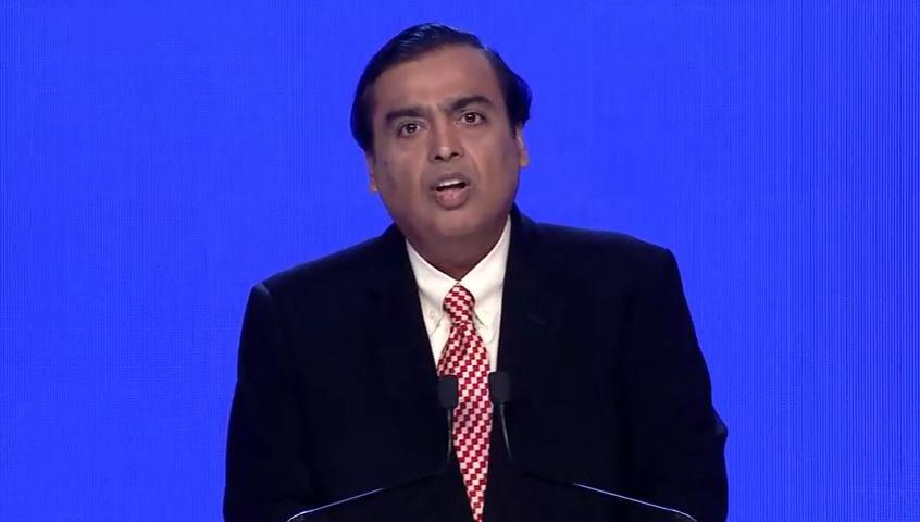 .@reliancejio touches 100 million subscribers in 170 days: Mukesh Amba...