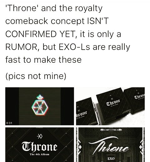EXO-L are  #exo #throne #exol <br>http://pic.twitter.com/h7GiiggPYH