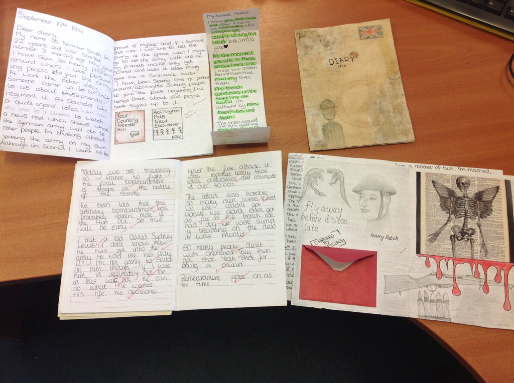 Well done Lottie, Jasmine and Rachel for these detailed and well researched historical diaries #LshsExcellence