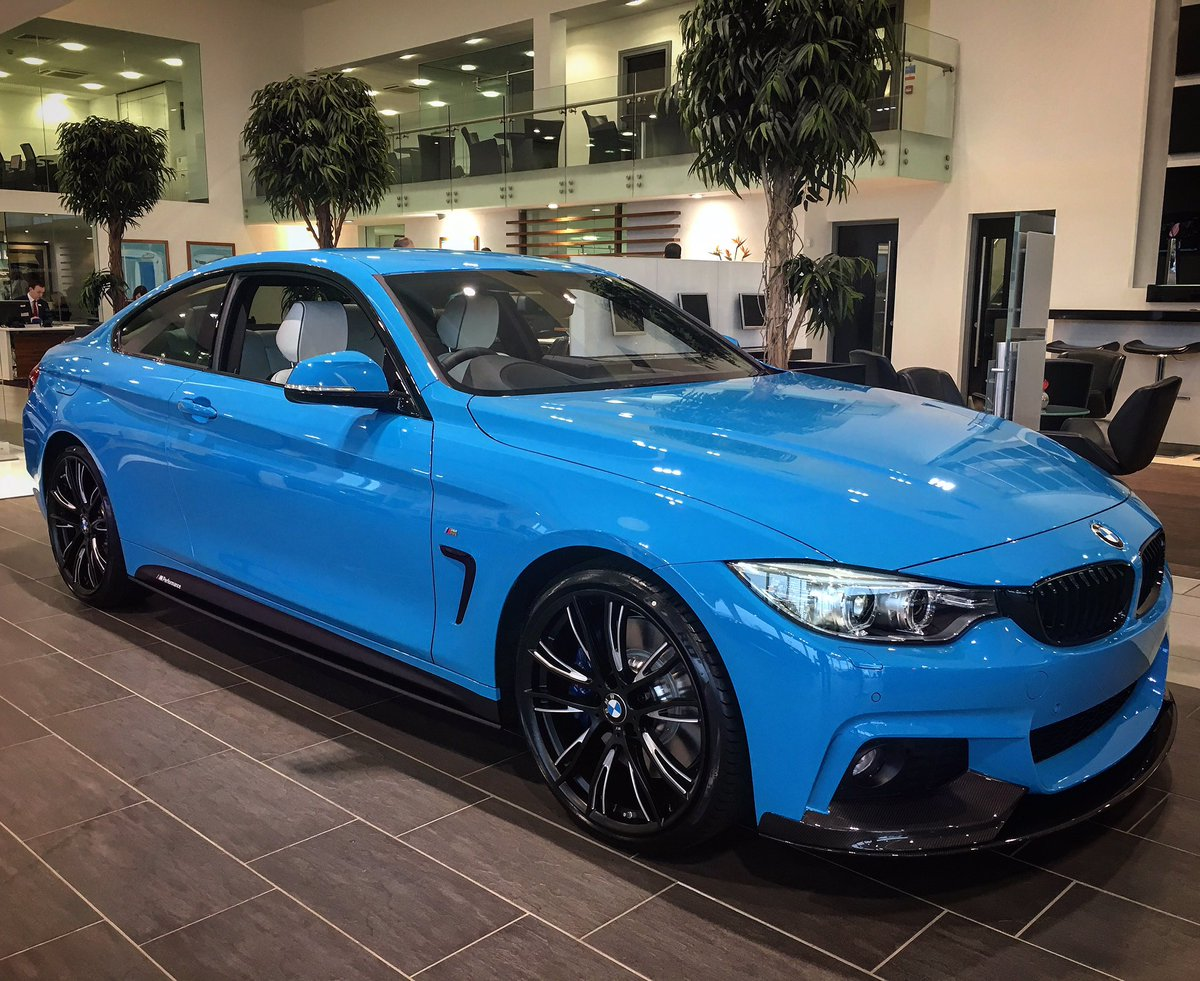 Bavarian Belfast On Twitter A Mesmerising BMW 440i M Sport Coupe In Individual Mexico Blue With Opal White Merino Leather BavarianBMW