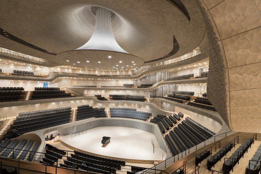 The Parametric Process Behind the Hamburg Elbphilharmonie's Auditorium...