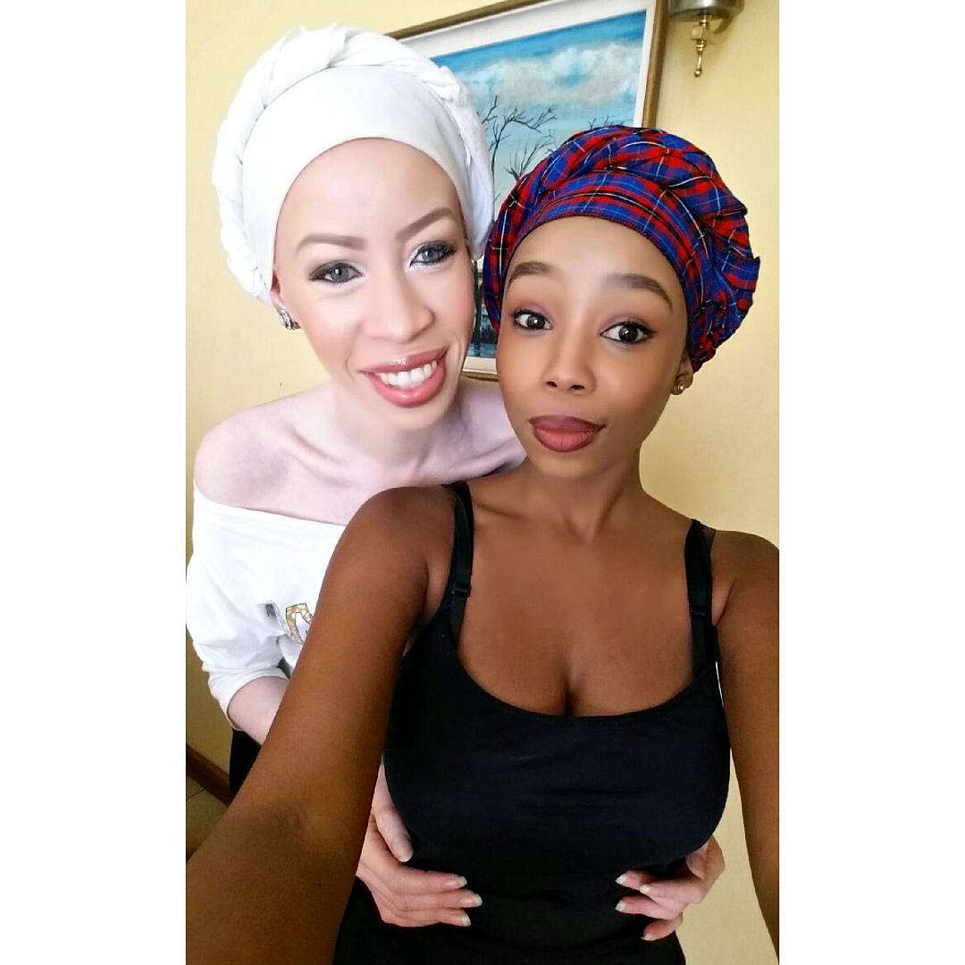 """Candice Modiselle On Twitter: """"Sisters. Light & Shade"""