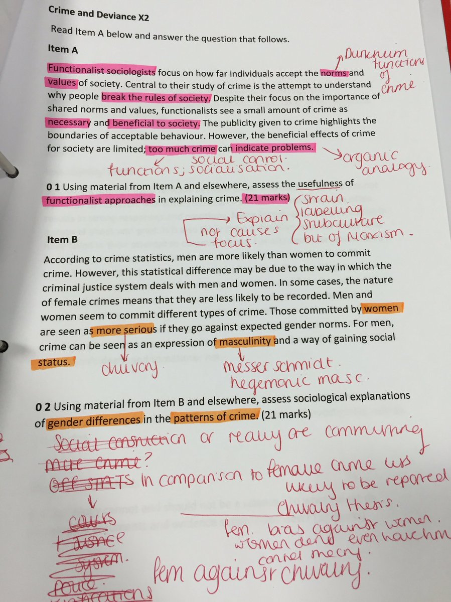 crime and deviance essay plans  crime and deviance essay plans