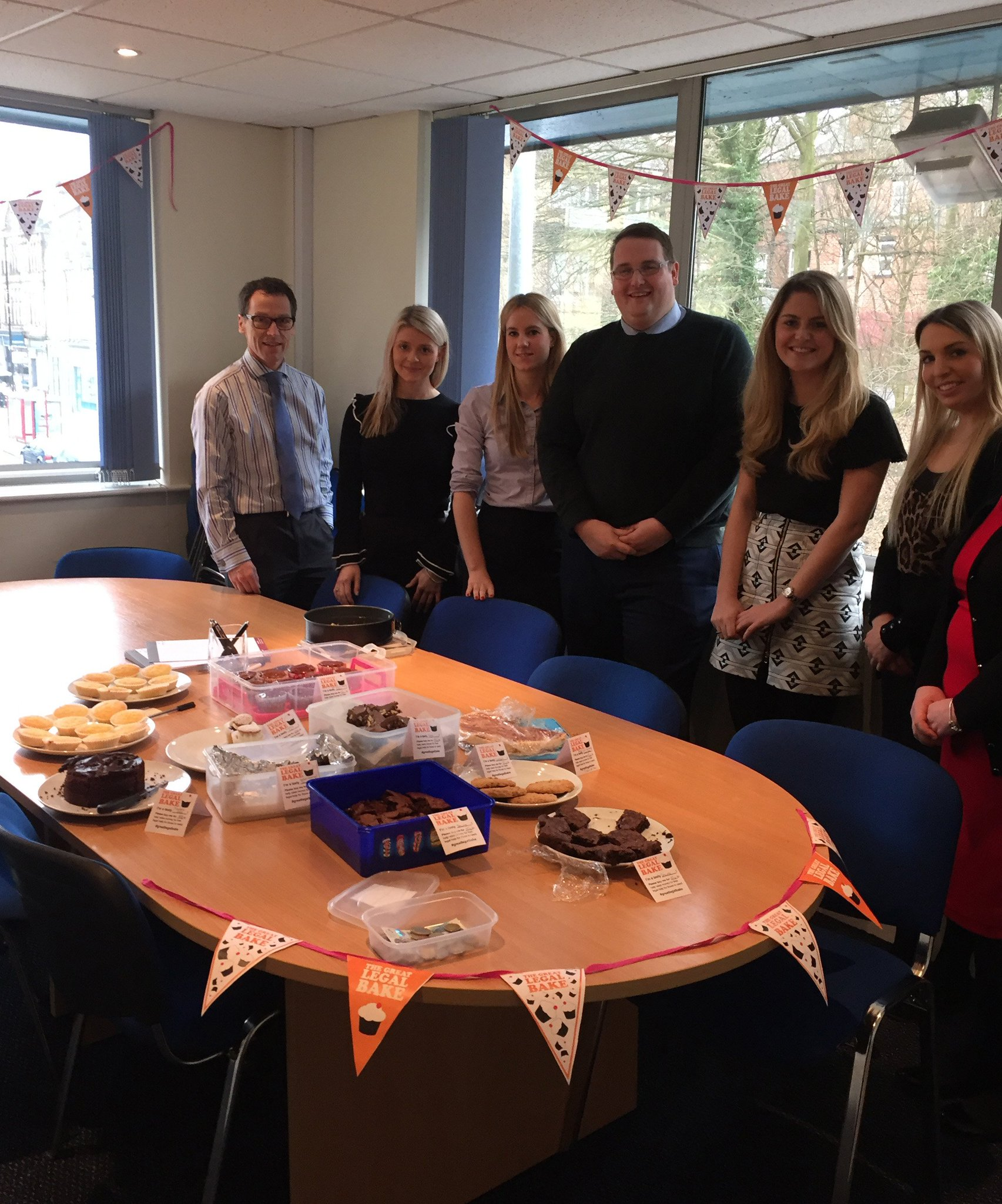 We had great fun taking part in the #greatlegalbake 2017. See our beautiful treats here: https://t.co/ZqxV0Q1fy9 #accesstojustice https://t.co/GFwh7VqtRT