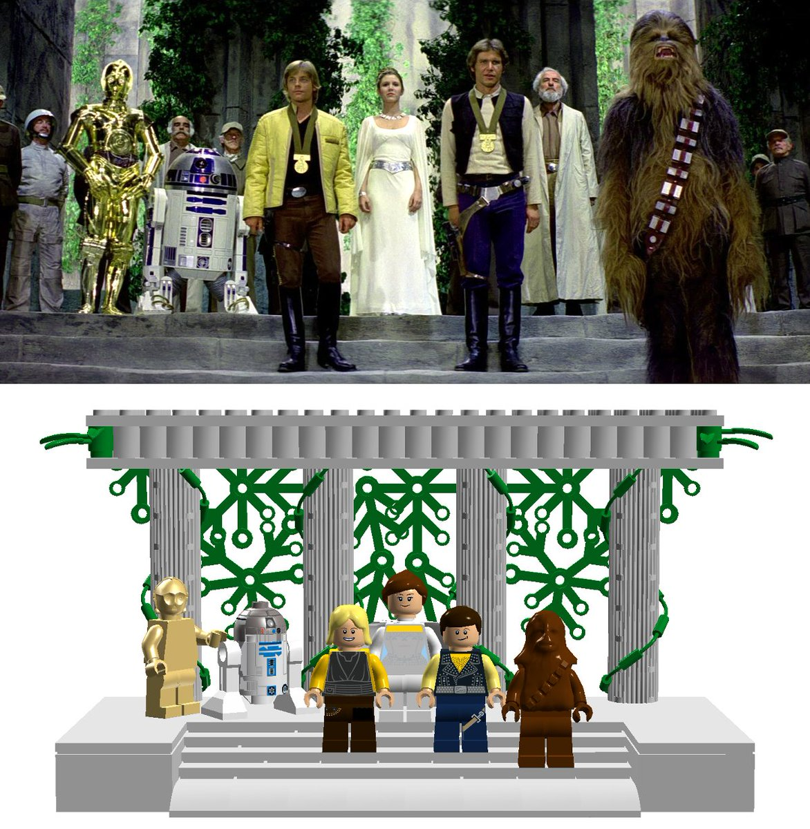 PLEASE VOTE for and RETWEET mach81&#39;s project on @LEGOIdeas!  https:// ideas.lego.com/projects/16596 4?cmp=IdeasProjectSocialShare &nbsp; …  #lego #hansolo #princessleia #winterlinebricks<br>http://pic.twitter.com/hMo4ijdt4I