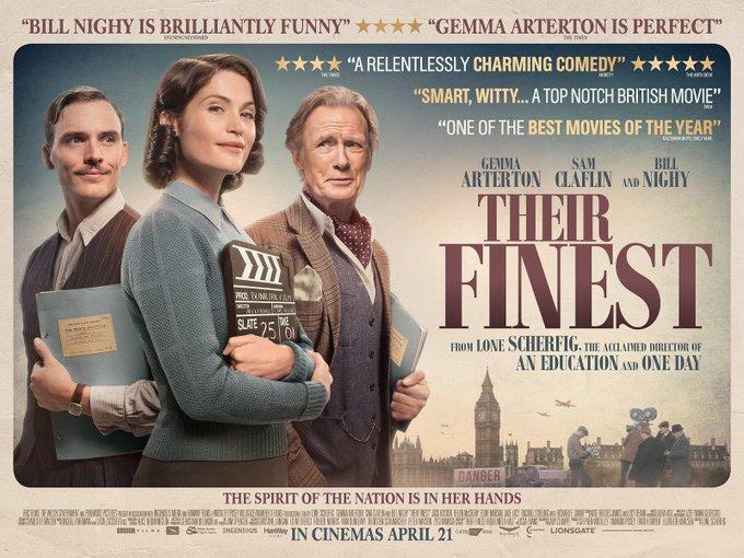 Their Finest, avec Gemma Arterton, Sam Claflin et Bill Nighy - Page 2 C5LuJz6XUAEprug