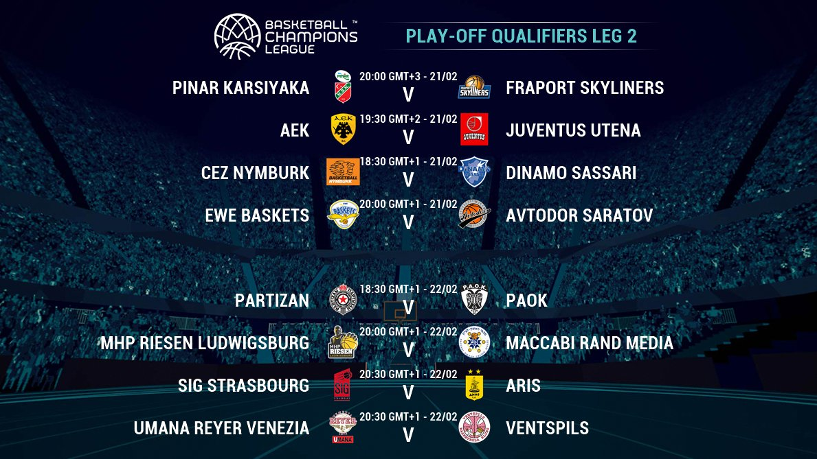 Which teams will clinch a spot for the Round of 16? 🤔 #BasketballCL  📰 https://t.co/DPhGJ7W1Kq   📺 https://t.co/2epwDgp3FG https://t.co/8OuYxxpj7A