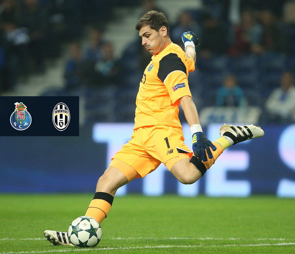 FC Porto-@juventusfc Falta 1 dia 💪 | 1 day left 💪  @IkerCasillas: 162...