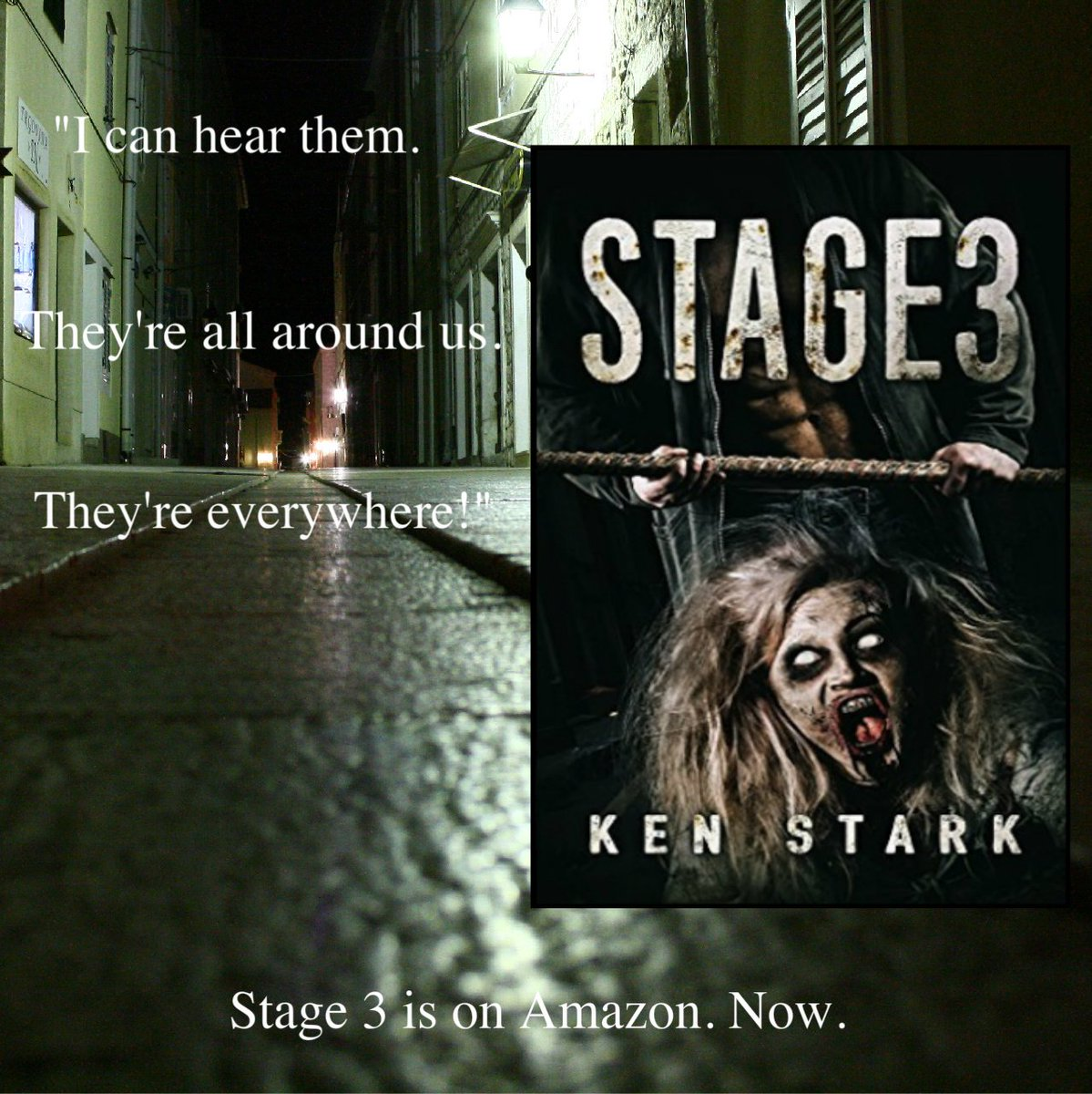 A flurry of shadows against the deeper blackness. They were there, and they were coming. #horror #zombie #thriller  https://www. amazon.com/Stage-Apocalyp tic-Thriller-Ken-Stark-ebook/dp/B01CYITYOS &nbsp; … <br>http://pic.twitter.com/05SBfINb5C