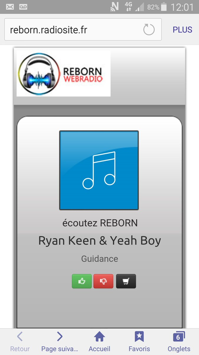 @RyanKeen et @yeahboymusic en diffusion sur @REBORNWEBRADIO en ce moment avec Guidance  J&#39;adore  Excellent artiste  #NewMusic #playlist<br>http://pic.twitter.com/VO8RneGqqv