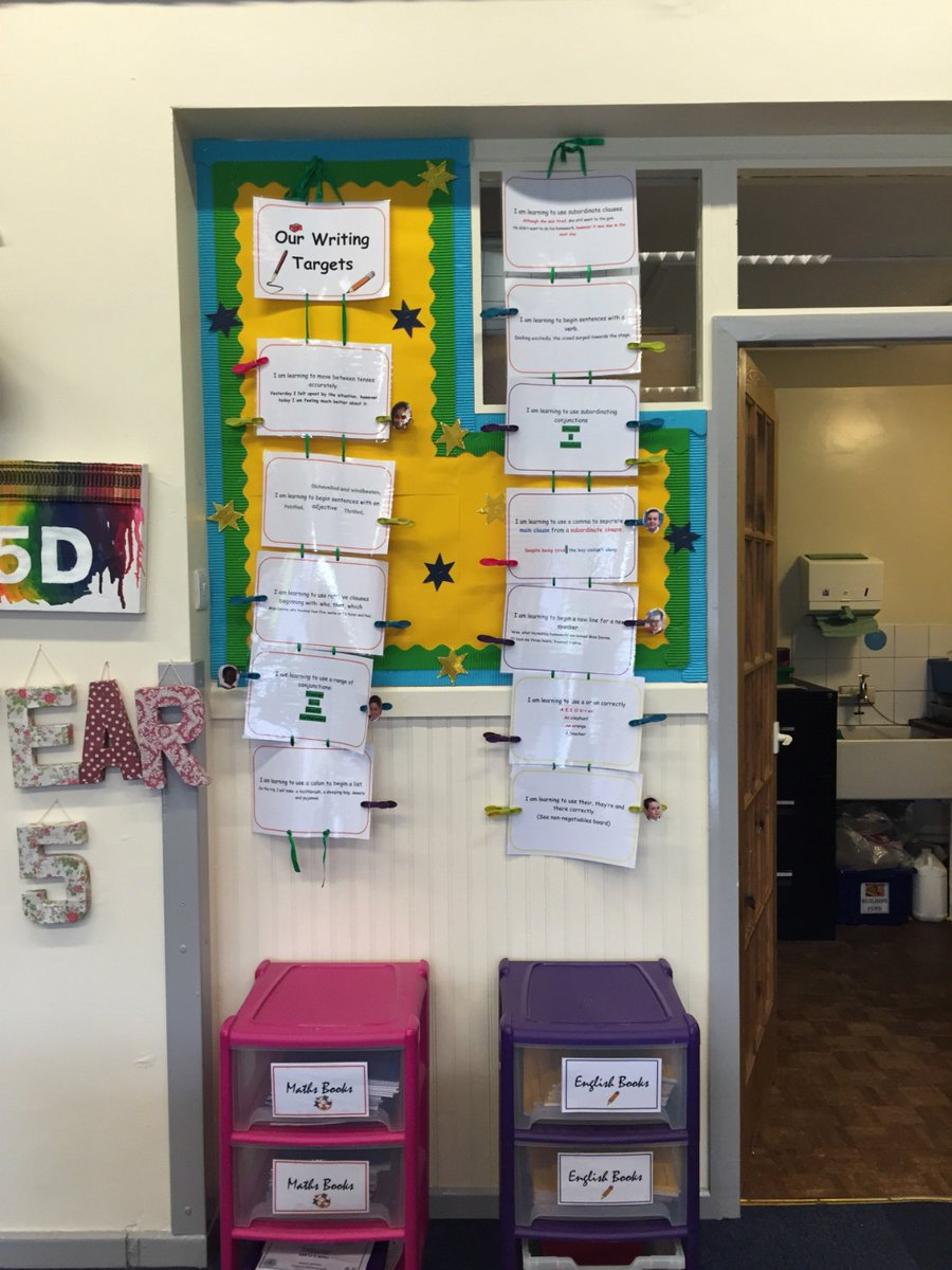Miss Devine is busy having a spring clean ready for a new half term. #tidyclassroom