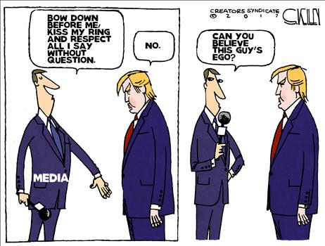 Says it all about the smug, elitist, lying #FakeNews media...  We hate you all.  #MAGA