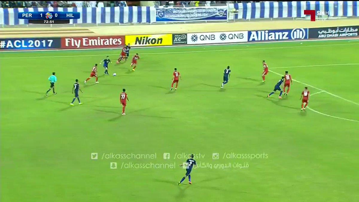 فيديو : فرصة عمر خريبين لاعب #الهلال السعودي #بيروزي_الهلال #دوري_ابطا...