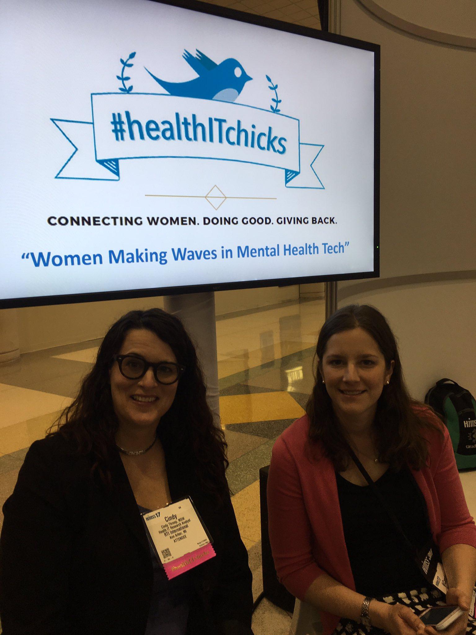 Thumbnail for #HealthITChicks Meetup at #HIMSS17