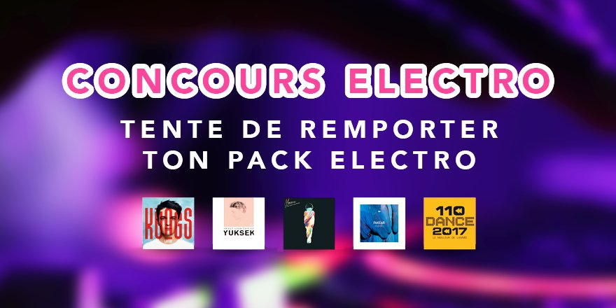 #CONCOURS : 1 vinyle et 4 albums #Electro à gagner ici   http:// play.musicparty.fr/electro/  &nbsp;   Good luck ! <br>http://pic.twitter.com/EBSgmnug6x