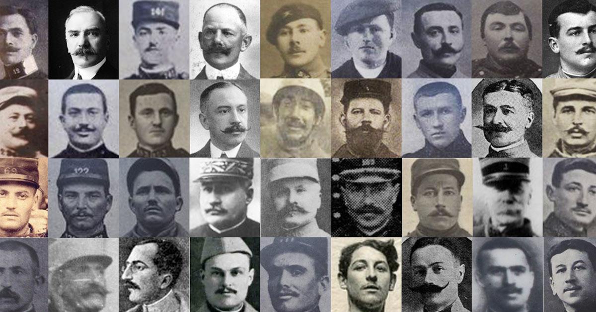 Il y a 101 ans démarrait la bataille emblématique de la #1GM. Les visages de 214 combattants de l&#39;enfer de #Verdun :  https:// storify.com/1J1Poilu/303-v isages-pour-verdun &nbsp; … <br>http://pic.twitter.com/mvodGNgRP5
