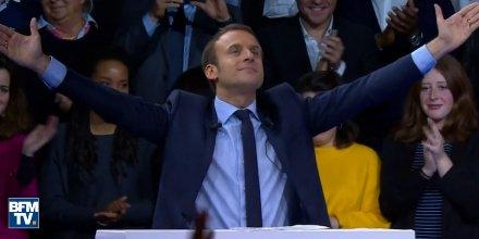 Campagne : d&#39;après nos calculs, #BFMTV diffuse autant de #Macron que de Fillon + Hamon, Mélenchon + Le Pen réunis !  http://www. marianne.net/bfmtv-diffuse- autant-macron-que-fillon-hamon-melenchon-pen-reunis-100250047.html &nbsp; … <br>http://pic.twitter.com/1zFZUlSxrZ