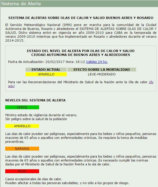 #AlertaAmarilla 🌡🌡 A las 13.00 horas, la sensación térmica en la Ciuda...