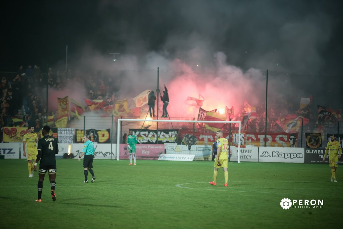 #DominosLigue2 #USORCL #RCLens #Supporters No comment ! <br>http://pic.twitter.com/dwGwMQulas