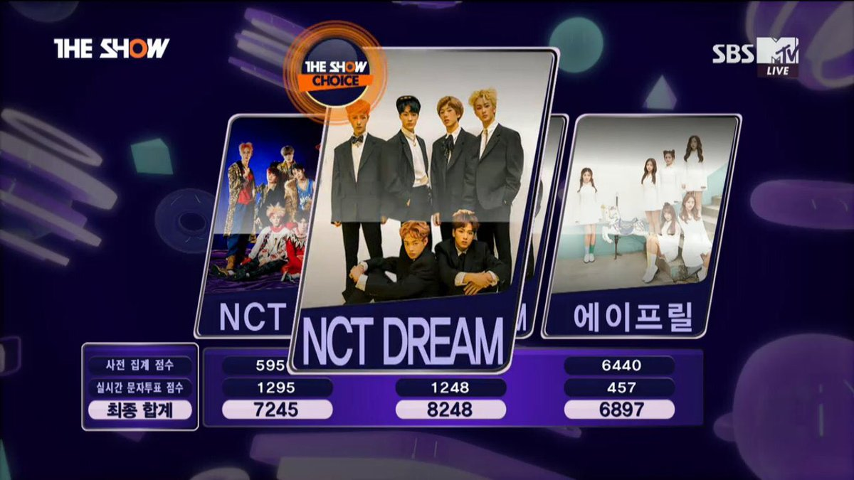 NCT Dream wins #1 on SBS MTV The Show for 2 straight weeks https://t.c...