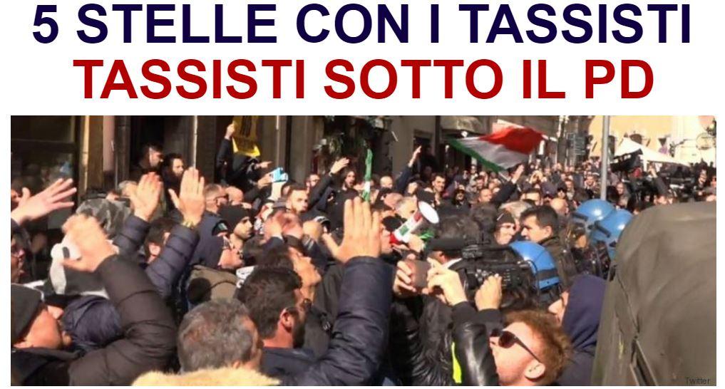 Sesto giorno di protesta. Grillo manda #Raggi a incontrarli #tassisti...