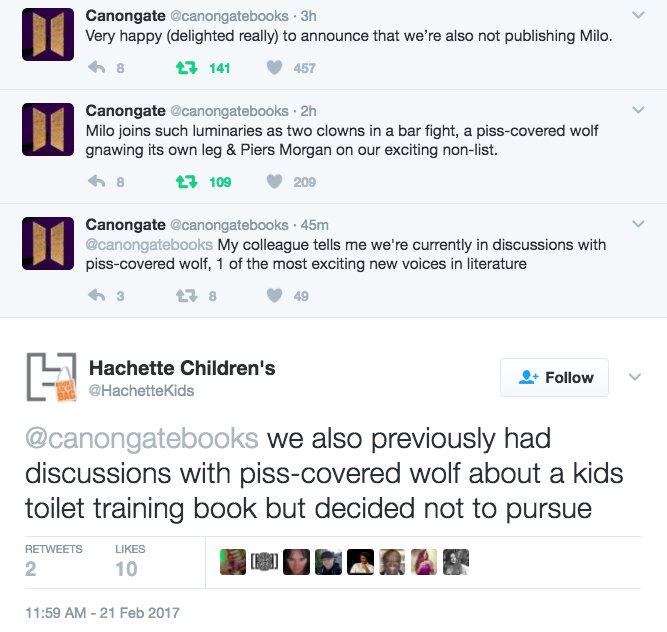 Imagine being owned so bad that even children's book publishers are coming for you on the internet