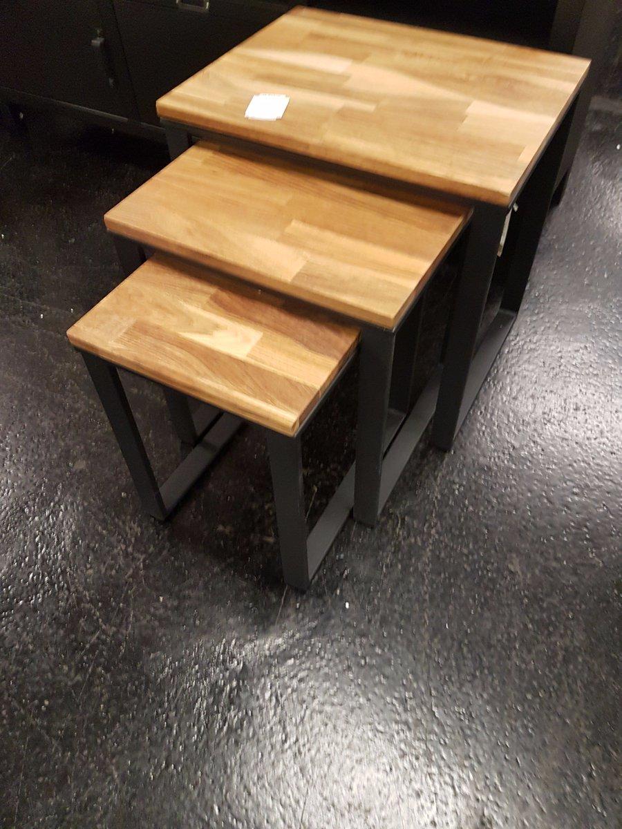 Trisha Robson On Twitter Hiba Industrial Styled Nest Of 3 Tables