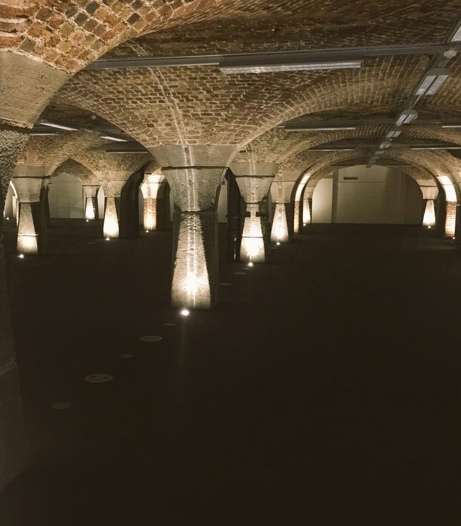 Great site visit @TobaccoDockLon this morning we love the cool exposed brickwork #eventprofs #uniquevenues https://t.co/9yoe3QYaWl