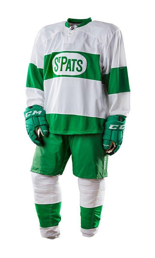 Leafs unveil special St. Pats jerseys e3fb86b1b586